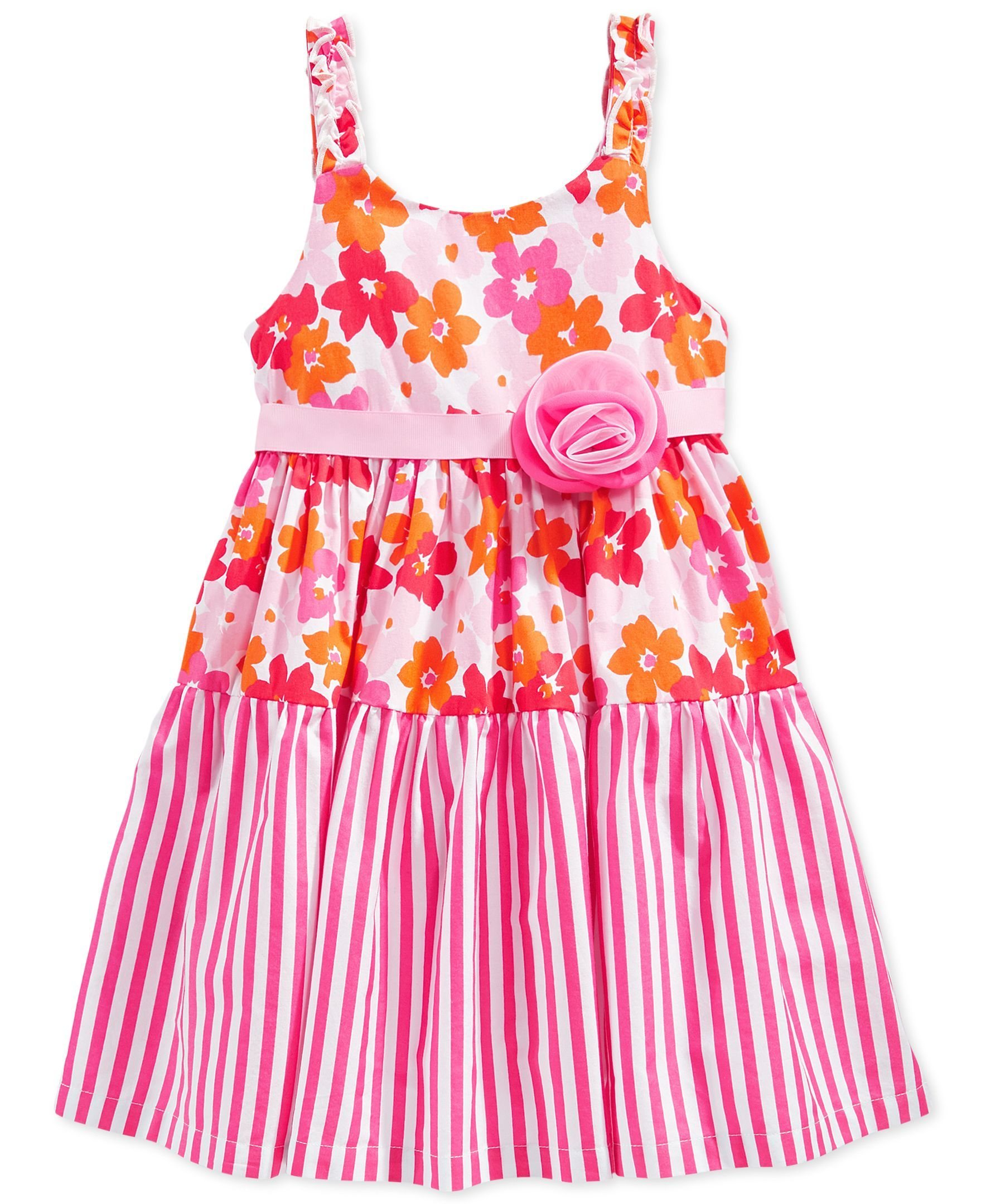 Marmellata Little Girls Mixed Print Dress Products