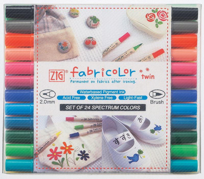 Zig Textile Fabricolor Twin Set of 24 | Products I Love