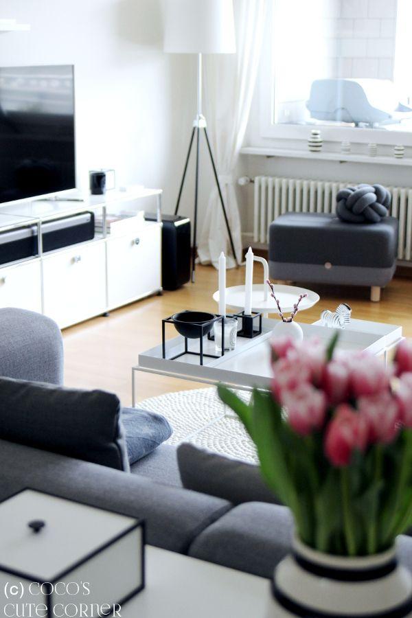 Wohnzimmer zum zigsten - mit dem perfekten Teppich Nordic design
