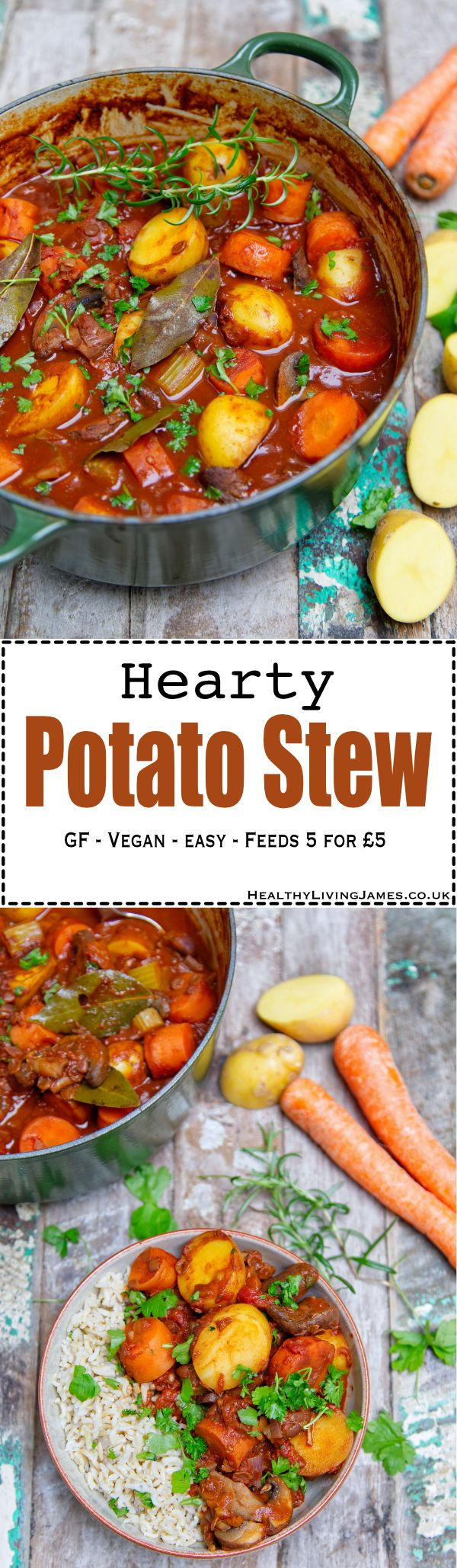 Hearty Potato Stew