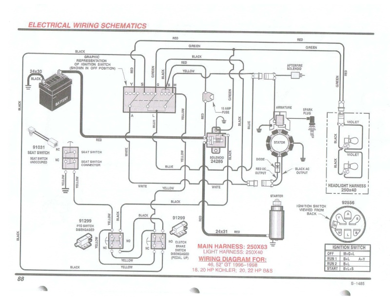 Briggs And Stratton 22hp Intek Wiring Google Search Automotive Repair Diagram Wire