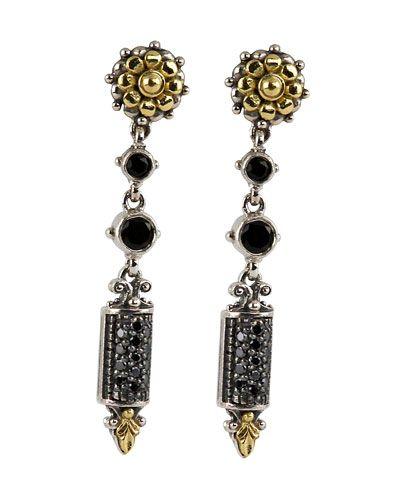 Konstantino Asteri Etched Freshwater Pearl & Diamond Dangle Earrings pxiLUKsifc