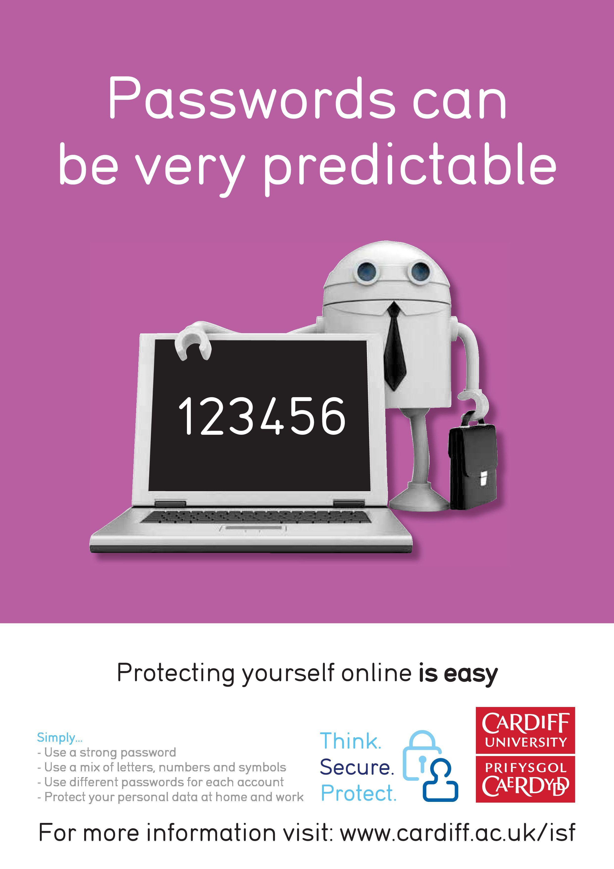 password Cyber security awareness, Password security