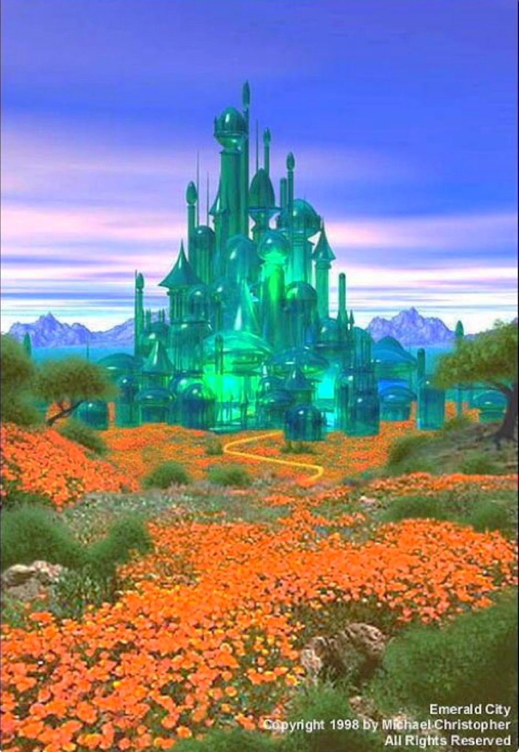 Portrait Of Emerald City