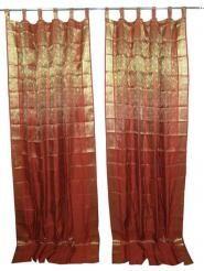 Curtains And Drapes Silk Curtain Panels Sheer Organza Drapes