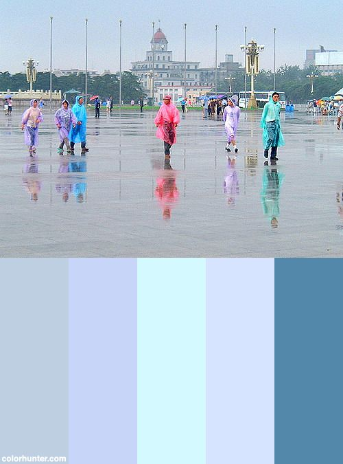 Tiananmen Square Color Scheme from colorhunter.com