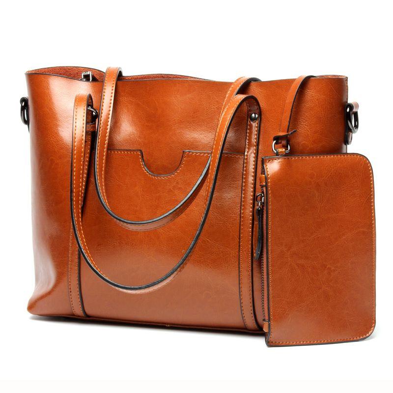 Genuine Cowhide Leather Women Bag Brand Designer Shoulder Bags Classical  Composite Bag Women s Handbags Big Tote Bolsos Mujer 53d79c2826
