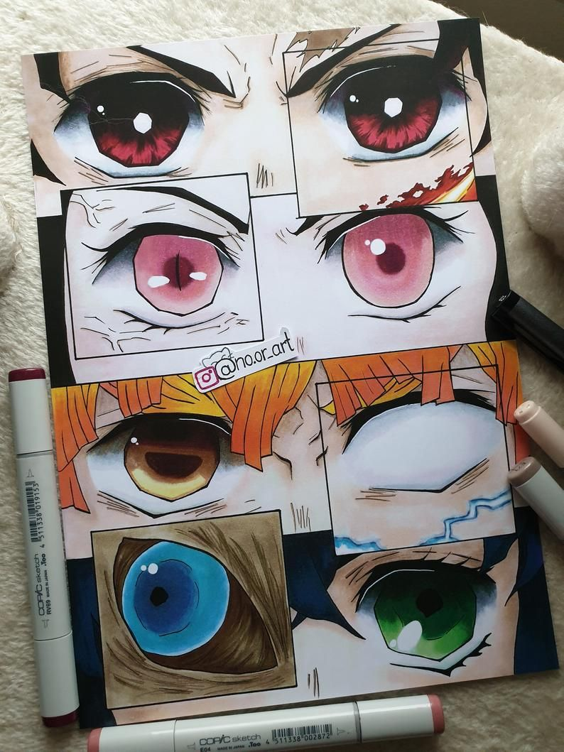 Photo of Eye Collages with Options