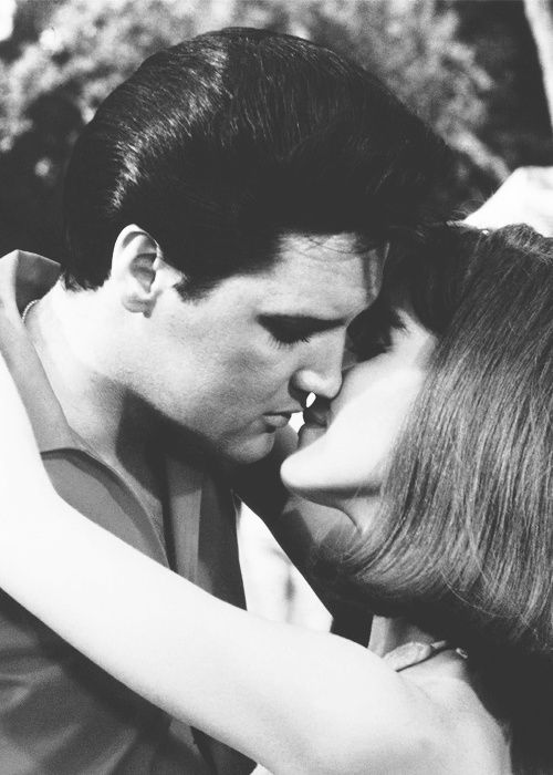 Elvis and Shelley Fabares in 'Spinout', 1966