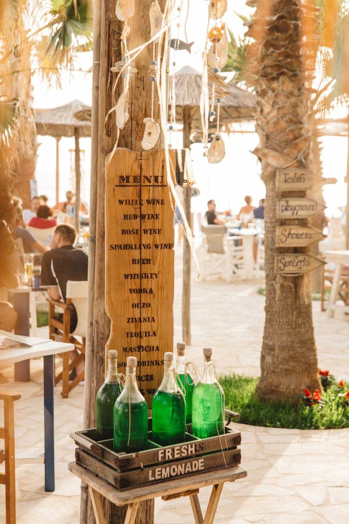 Sea You Beach Bar Potima Bay Paphos Viva La Vita