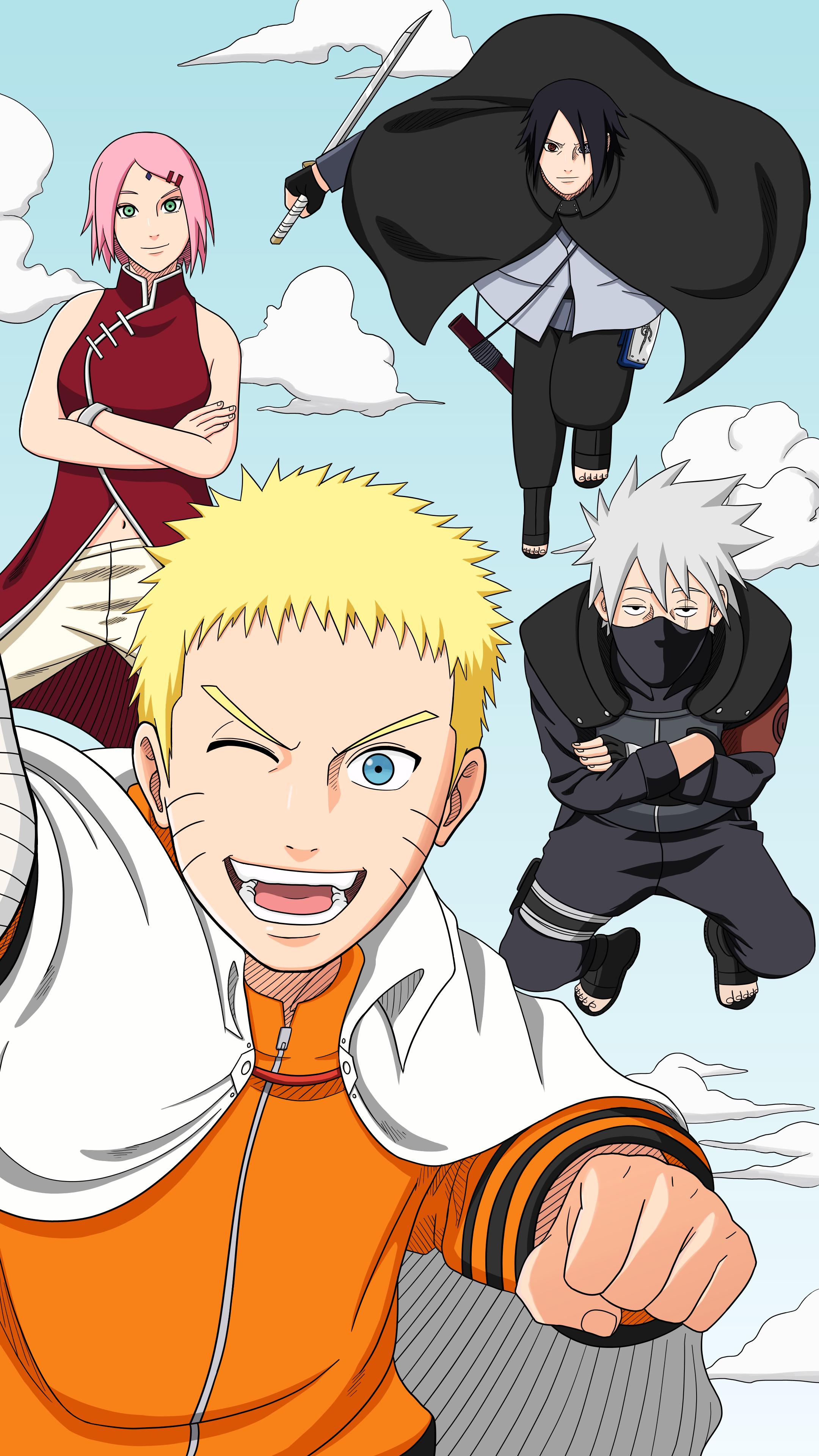 A Team 7 Wallpaper I Made For Myself Naruto Anime Manga Naruto Teams Naruto Team 7 Naruto Shippuden Anime