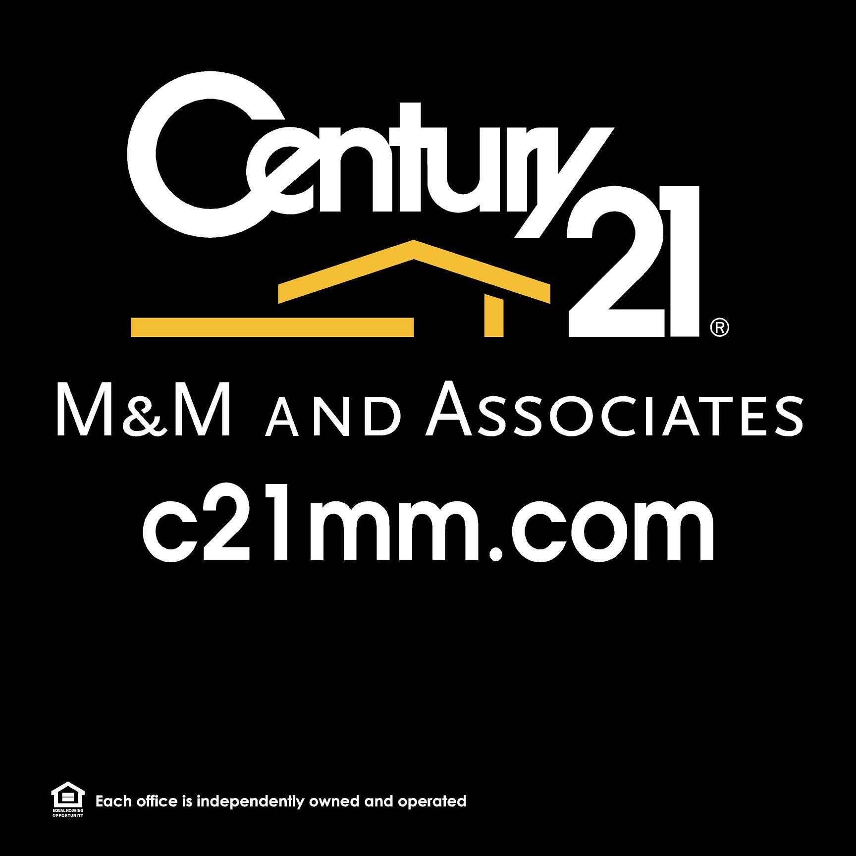 Century 21 M M And Associates Real Estate Sign Real Estate Signs Estate Signs Tech Company Logos