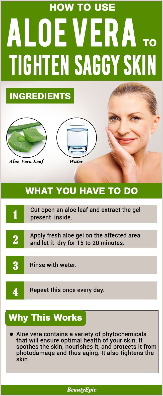 Can Aloe Vera Help Tighten Skin Skin Tightening Aloe Vera For Skin Natural Skin Care