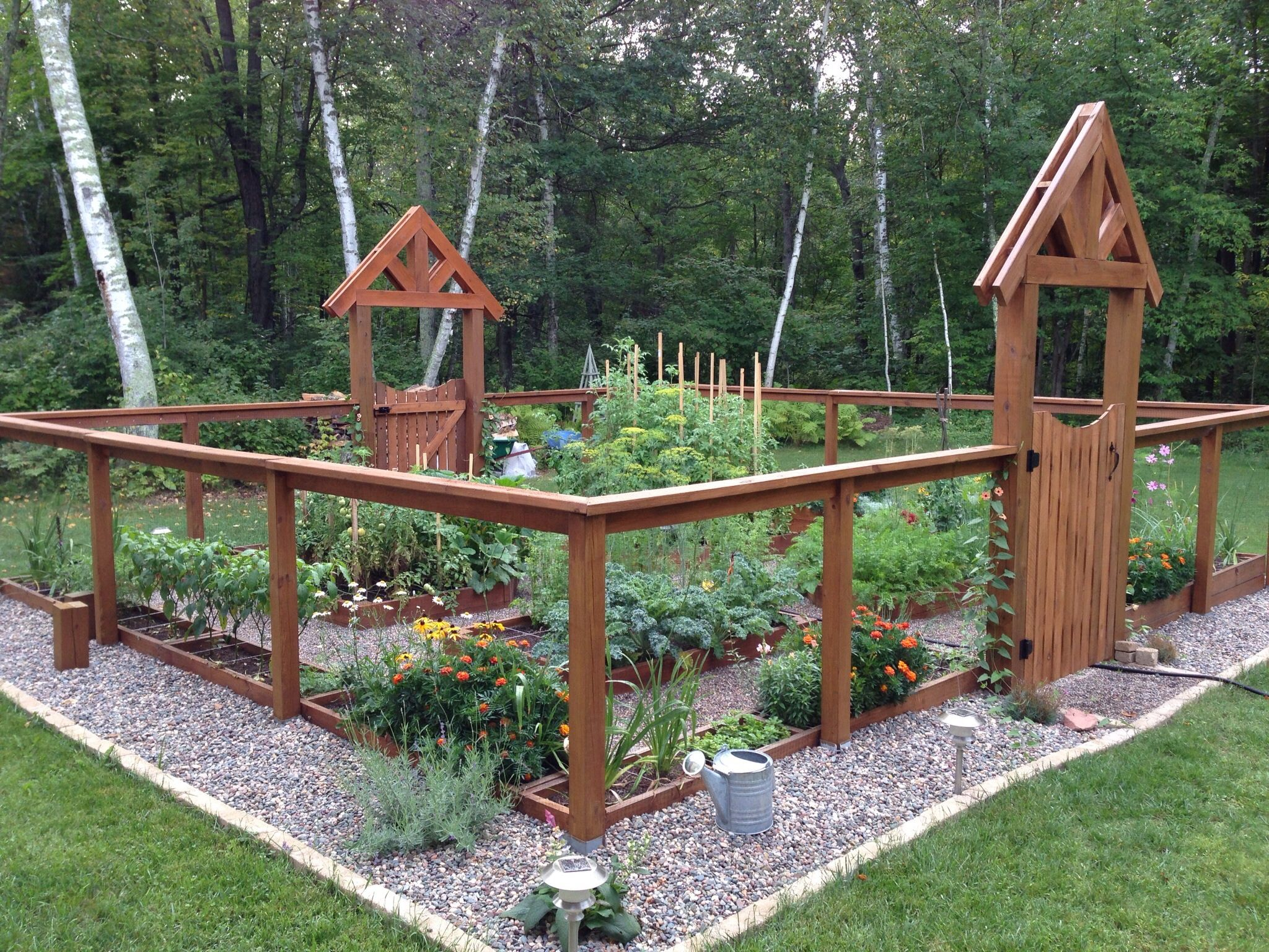 this is our deer proof garden we werent sure the critters - Deer Proof Vegetable Garden Ideas