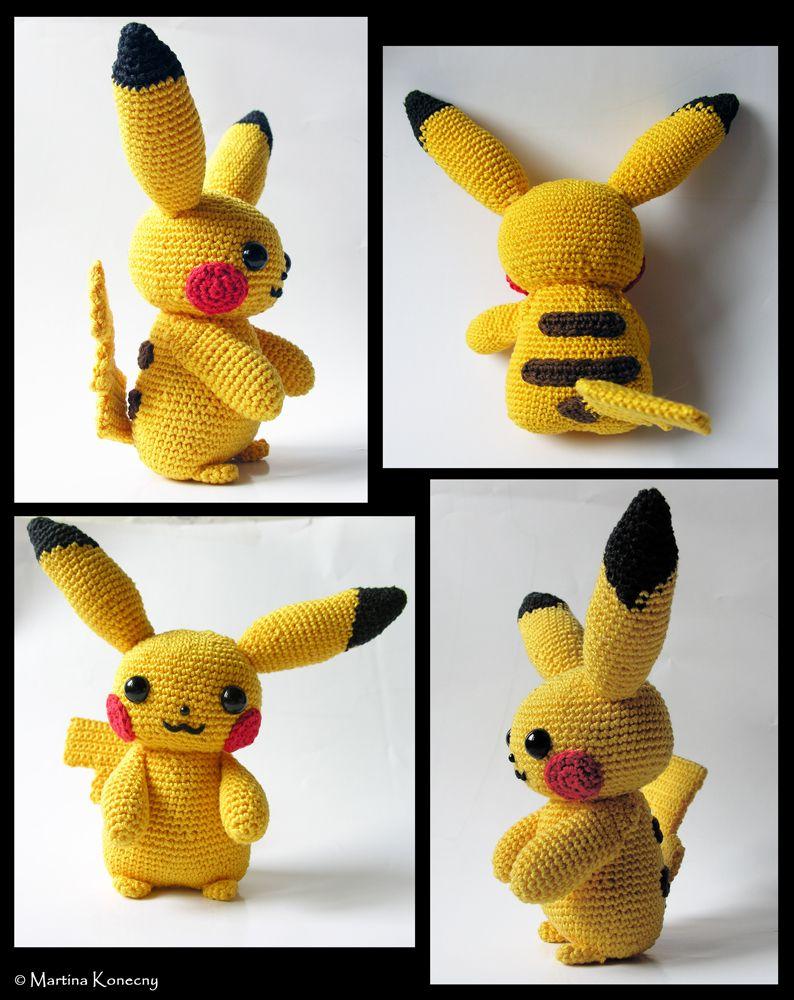Pikachu by LeFay00 on deviantART | Knitting/Crocheting | Pinterest ...