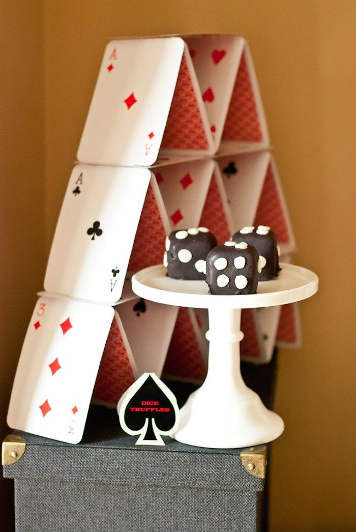 Casino Game Night Birthday Party Adult Parties Pinterest