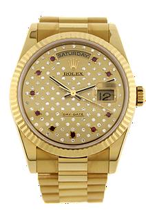 pre owned rolex watch day date tourneau 2195000