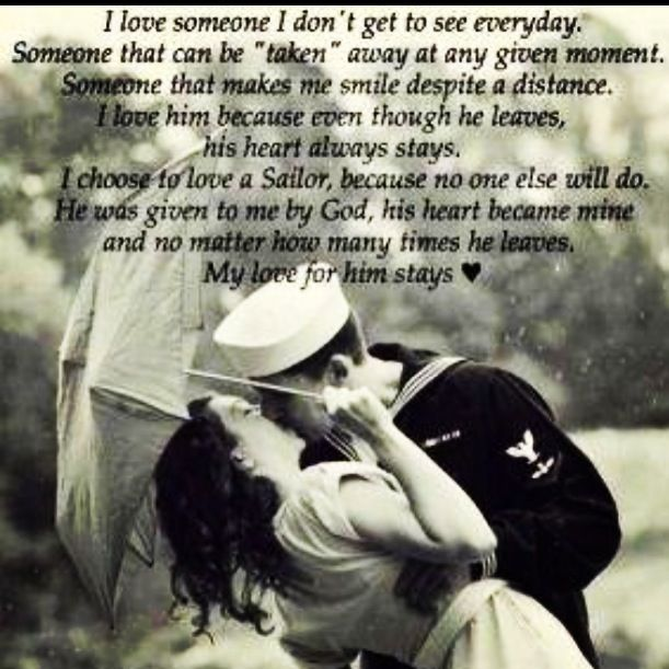 I love my sailor | Sayings | Pinterest | Sailor