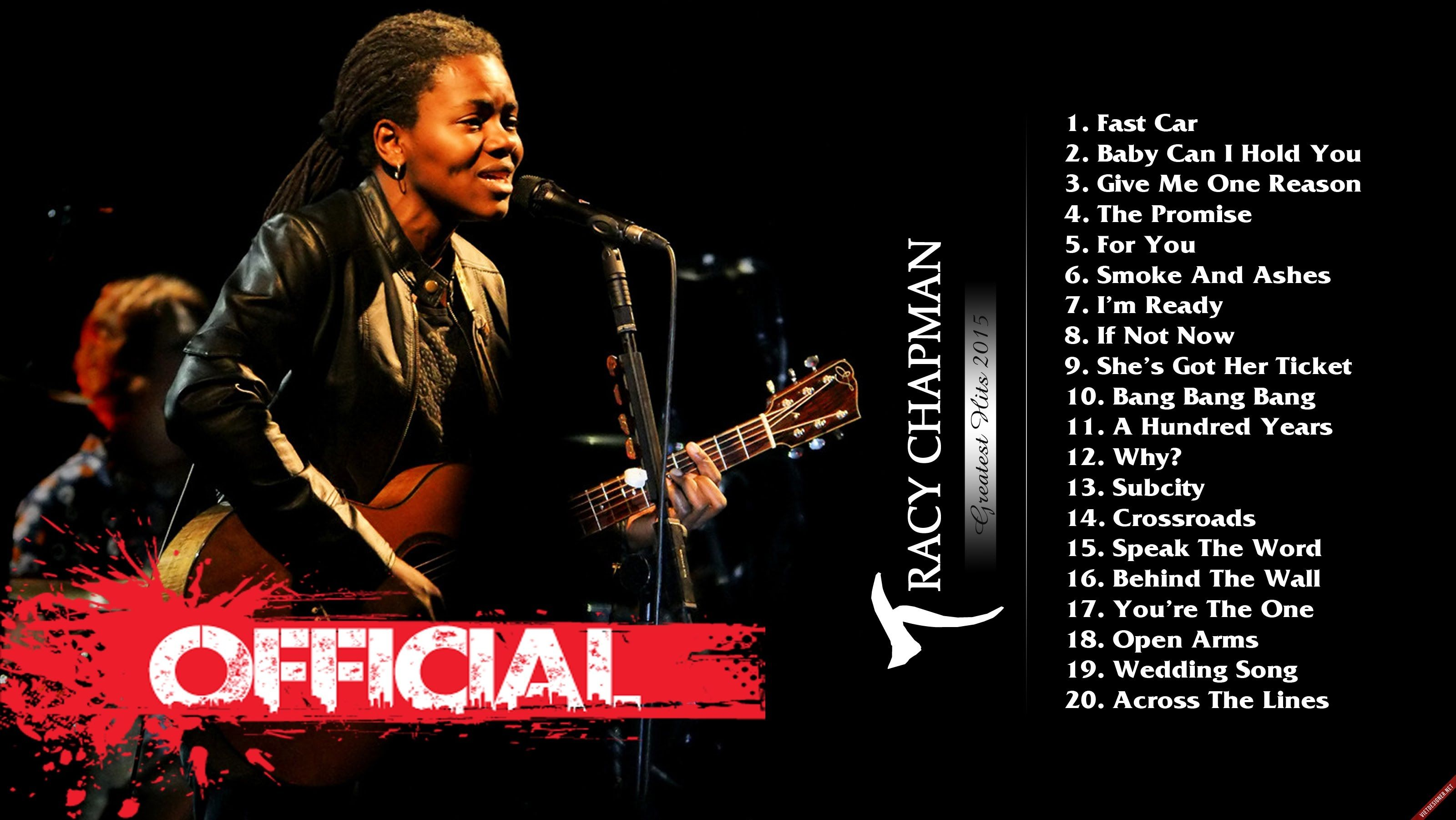 Tracy Chapman Greatest Hits