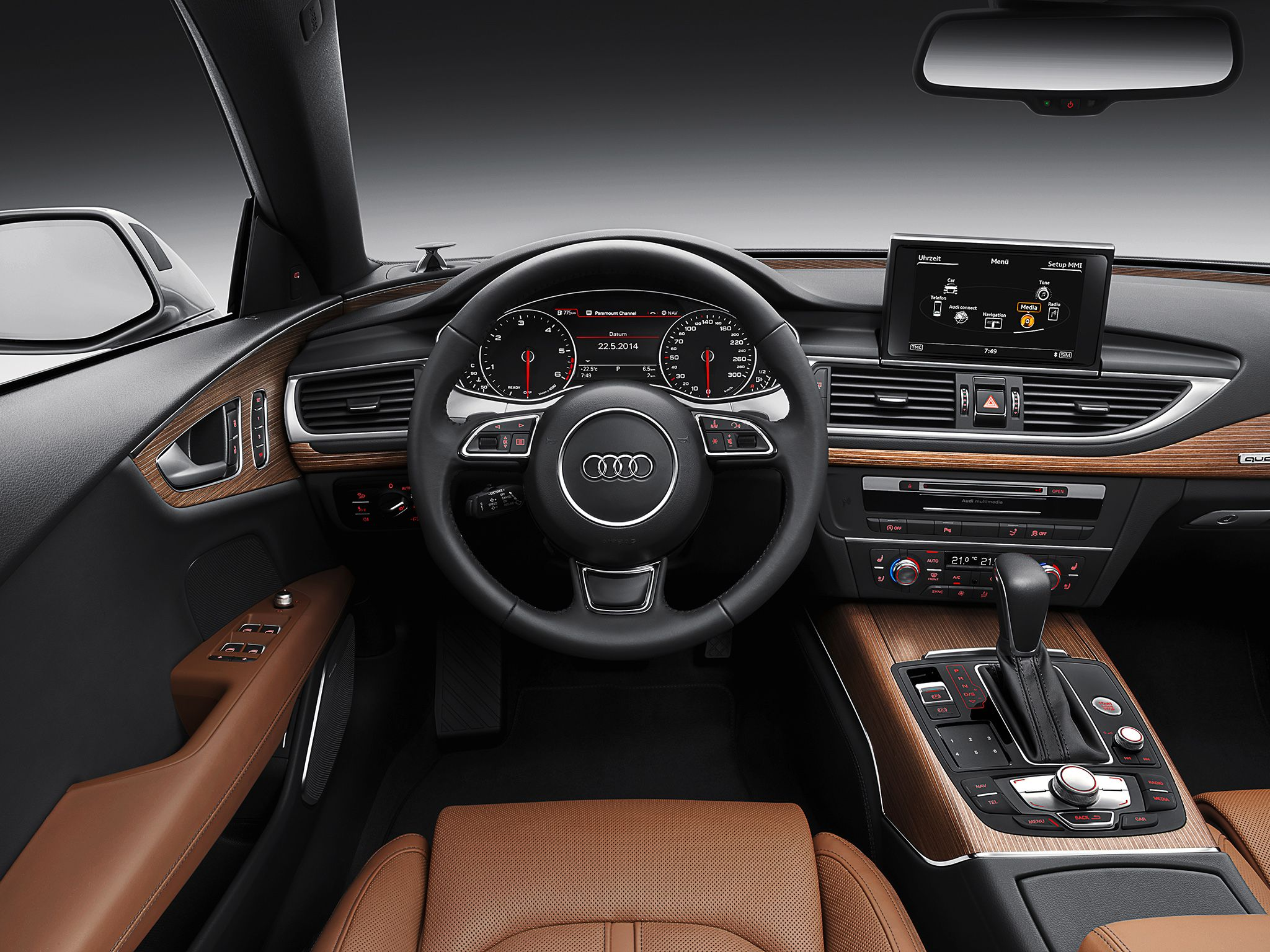 Audi A7 Sportback 3 0 Tdi Quattro S Line Worldwide 2014 18 Audi A7 Sportback Audi A7 Audi A7 Interior