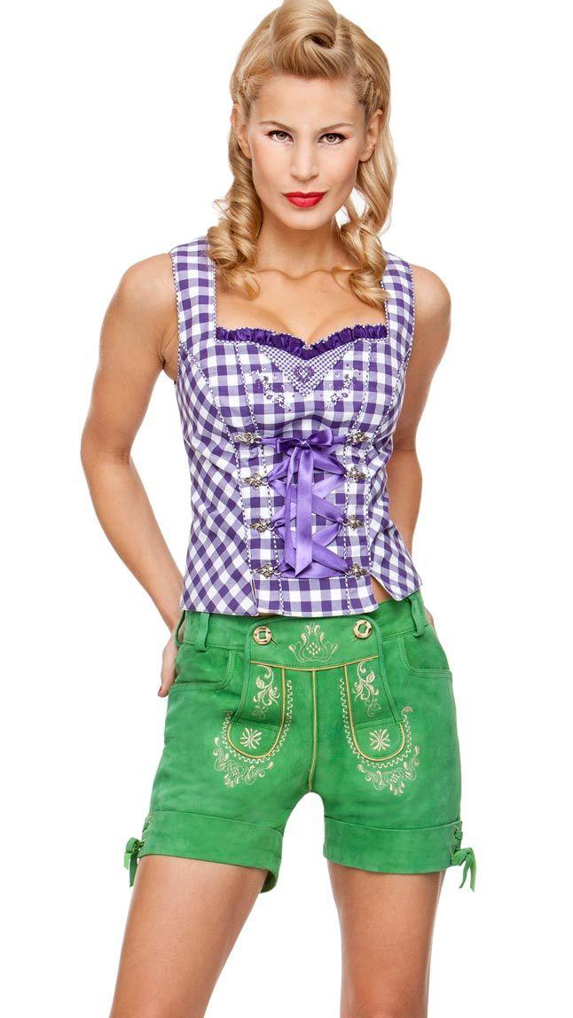 verkauf usa online schön Design wo zu kaufen Grüne Hotpant-Lederhose - Damit fällt Frau auf ;-) | Damen ...