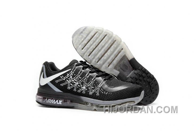 Nike Air Max Shoes 2017 Black White Top Deals