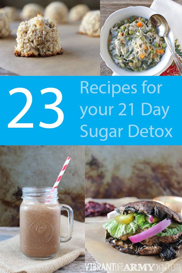 23 delicious recipes for your 21 Day Sugar Detox | www.vibrantlifearmywife.com #21dsd #paleo #sugardetoxplan