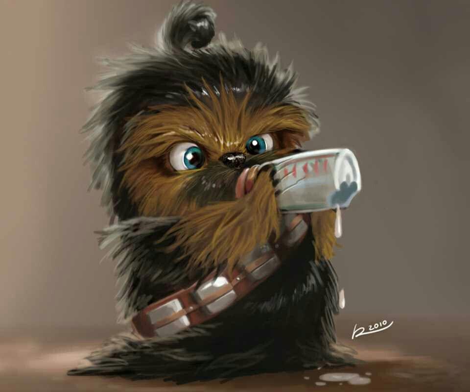Baby Chewie Movies Star Wars Fan Art Chewbacca