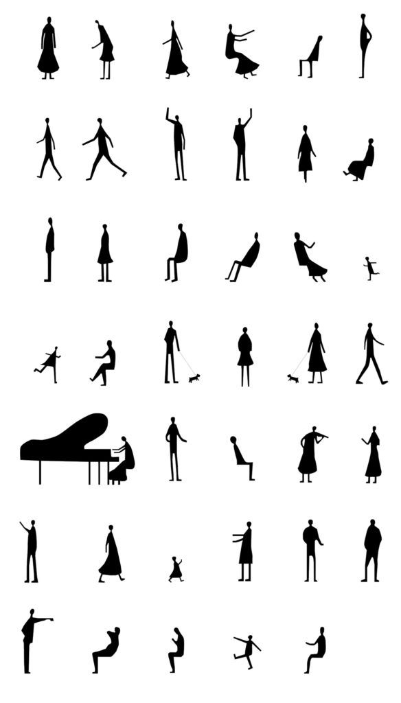 Today we created new 40 Cad Human figure / Sanaa People set of Photoshop Brushes for Architects. Months ago we added SANAA Style Human Figures Brush Pack 1. After request of Architectures we create more unique Sanaa People Silhouette Photoshop Brush in high resolution (1500 px). Happy download! enjoy your freebie. File Info: 40 brush […] More The post Sanaa People Pack 2 Photoshop Brushes appeared first on PsFiles.