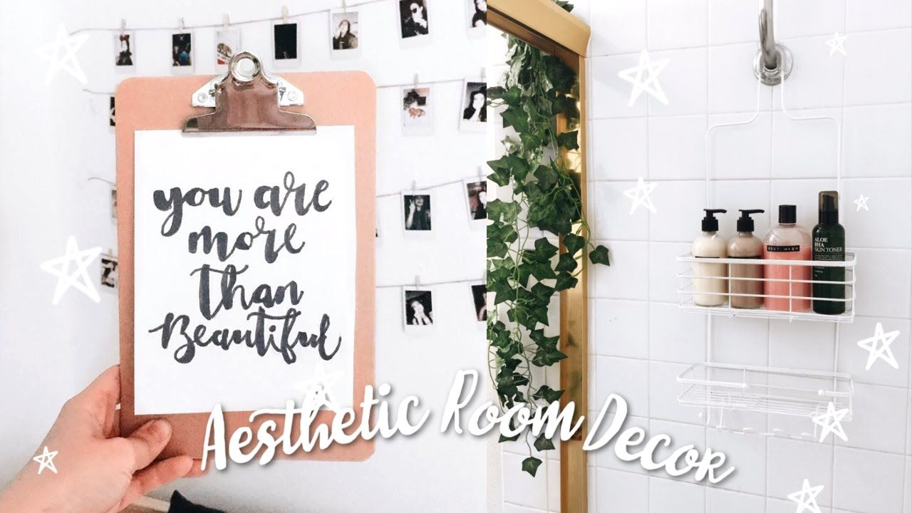 Diy Quick And Easy Tumblr Inspired Aesthetic Room Decor Youtube