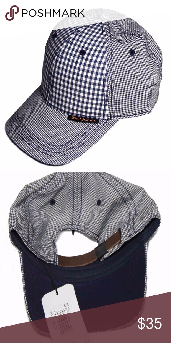aff37ed5db448 Mens Ben Sherman Hat Cap Navy White One Size Men s Ben Sherman cap   hat One