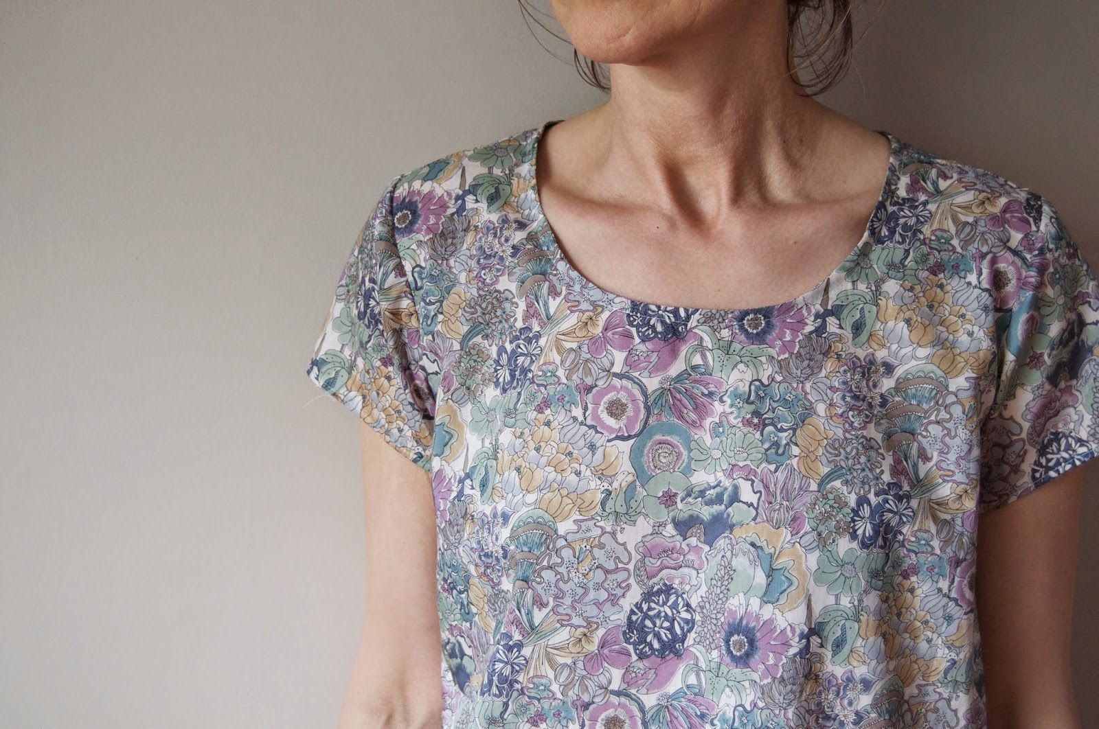 harmony and rosie, scout woven tee
