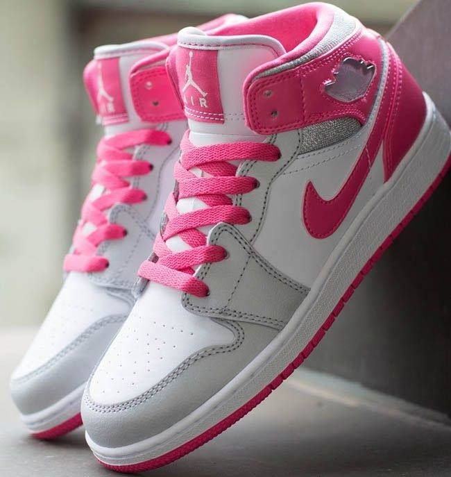 Nike Air Jordan 1 Mid Flex Girls