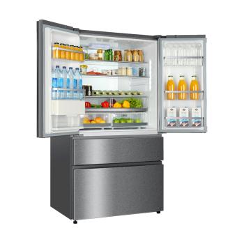 Kühlschrank Doppeltür hb25fssaaa side by side kühlschrank haier kühlschränke und