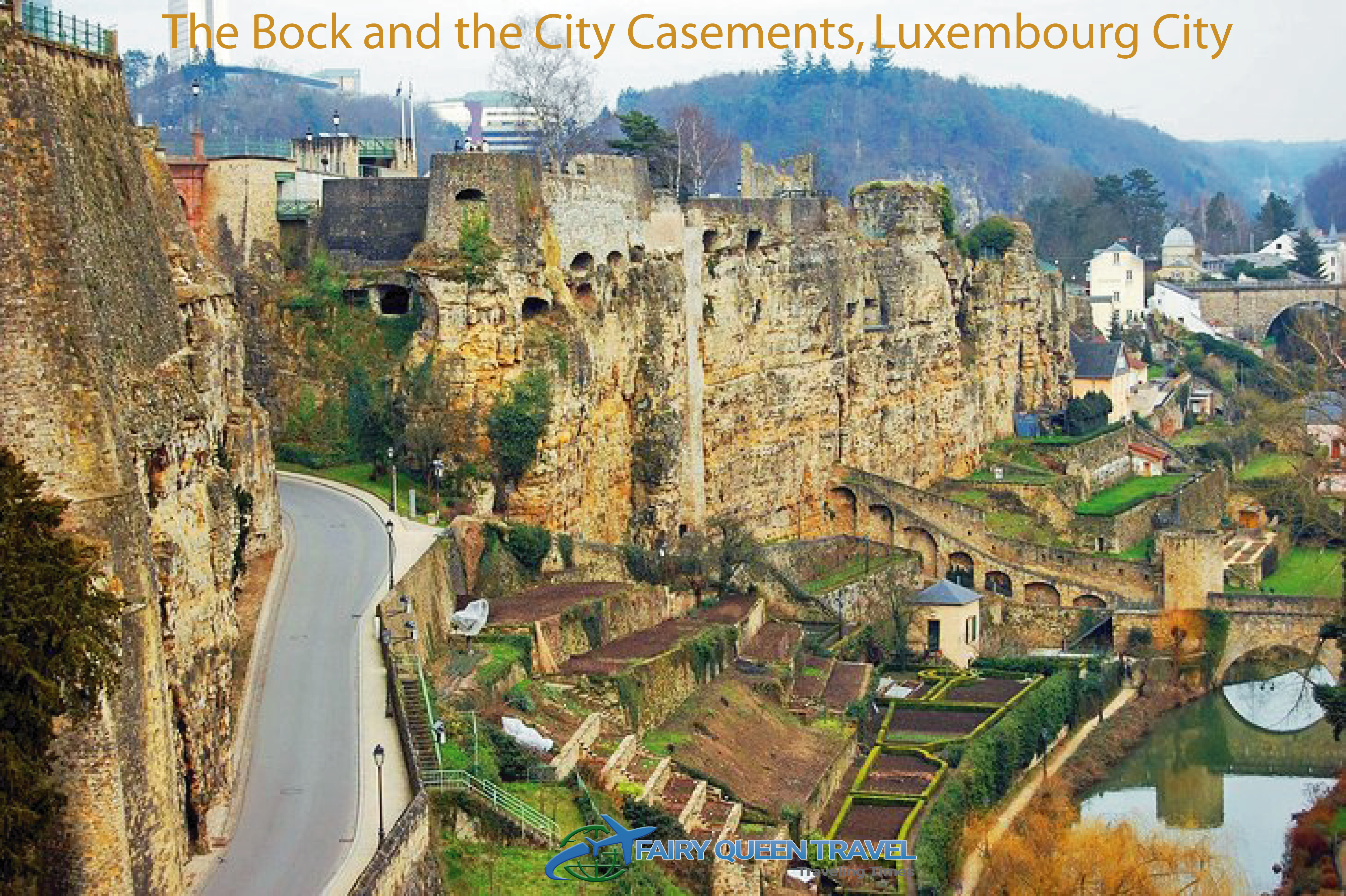 The Bock and the City Casements, Luxembourg City