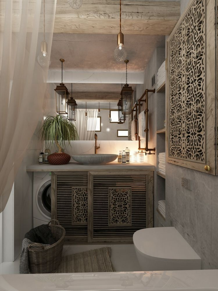 Wohnung mit femininer Einrichtung – 3 stilvolle Anregungen #bathroomlaundry