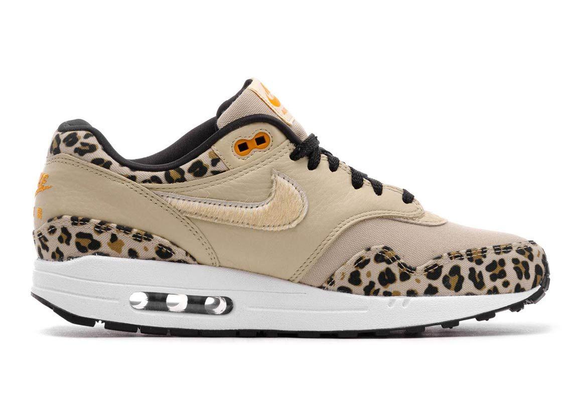 air max 1 premium black leopard