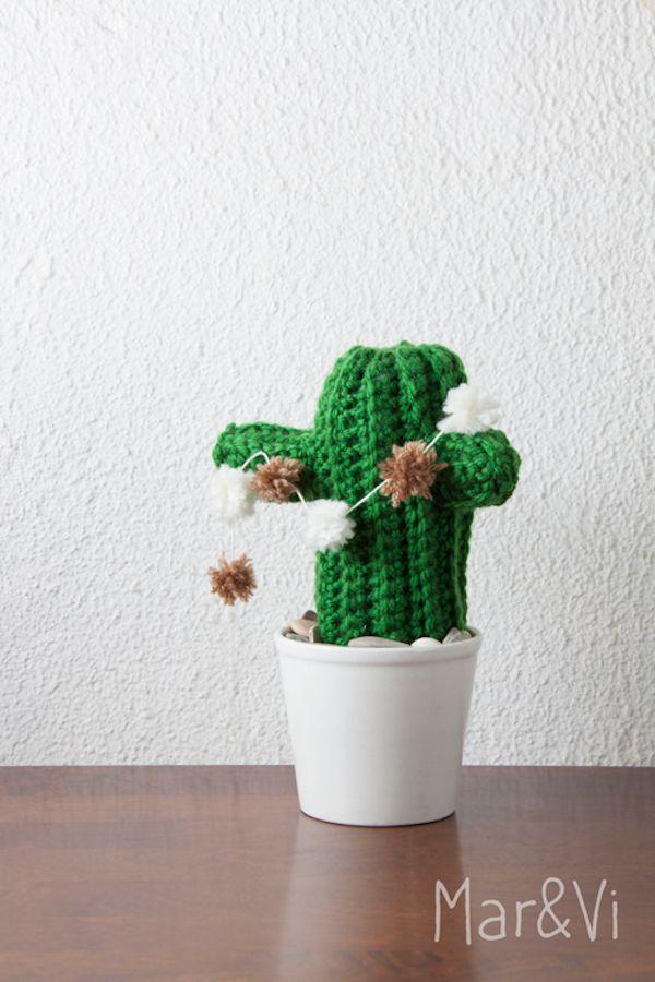 Cómo hacer un amigurumi: cáctus amigurumi | Cactus, Cómo hacer y ...