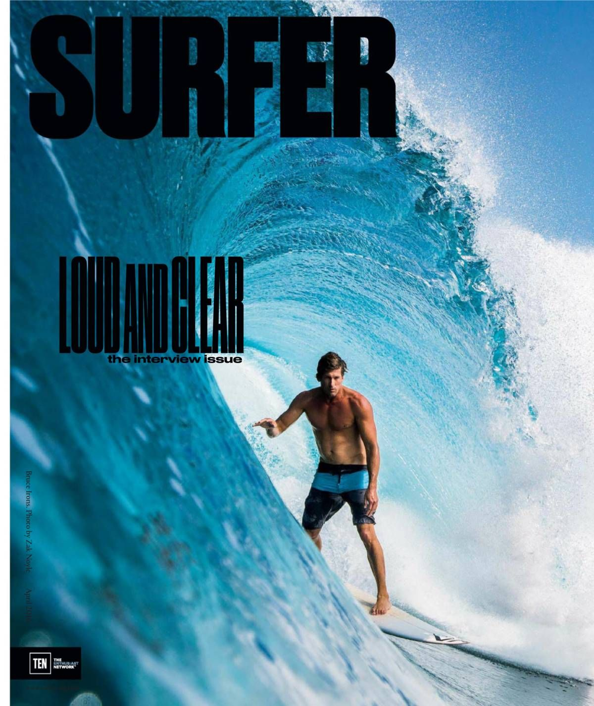 Free Download Surfer Magazine April 2016 Loud And Clear