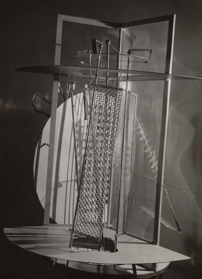 "LASZLO MOHOLY-NAGY /""Future Present/"" Bauhaus Constructivism 250gsm A3 Poster"