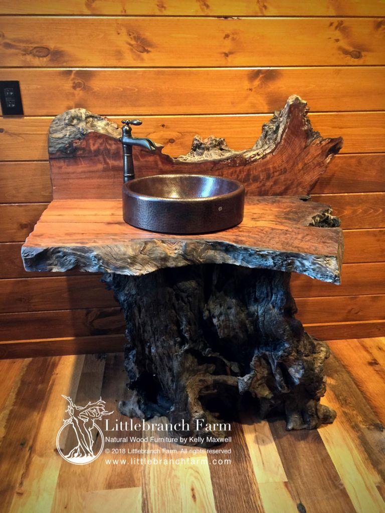 Rustic Vanities – rustic vanity – floating bathroom vanity