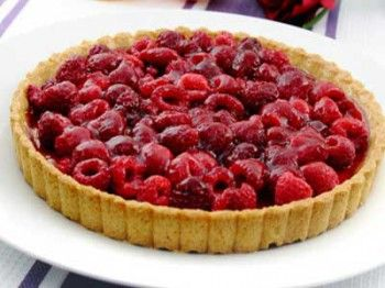 Low Carb Himbeer Tarte