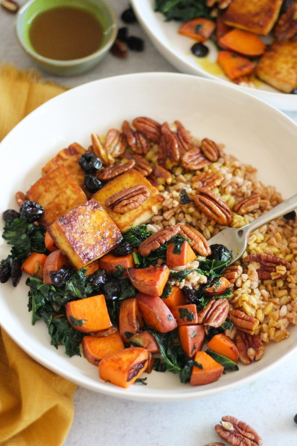 Thanksgiving Leftovers Try These 13 Recipes To Reduce Food Waste In 2020 Recipes Baked Tofu Sauteed Sweet Potatoes