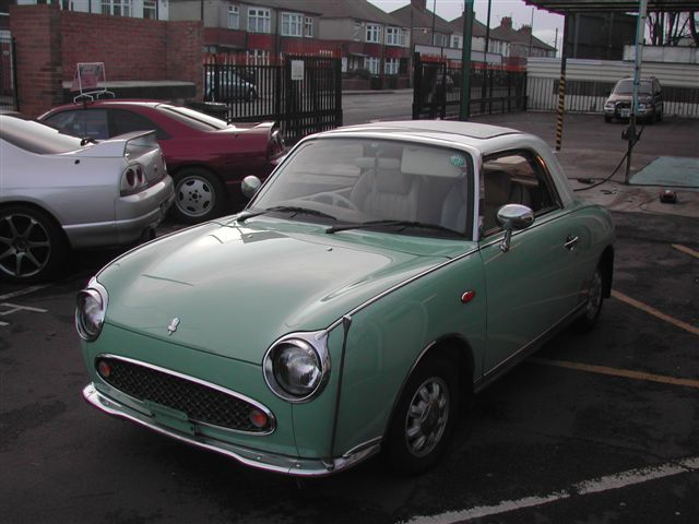 Nissan Figaro | Getting from A to B... | Pinterest | Nissan, Cars ...