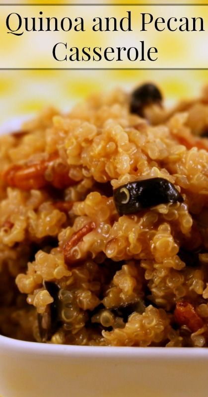 Quinoa and pecan casserole real food recipes traditional foods quinoa and pecan casserole real food recipes traditional foods recipes healthy recipes easy forumfinder Image collections