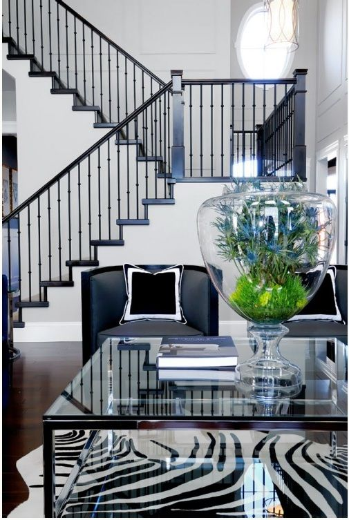 by Atmosphere Interior Design Inc., living room, staircase