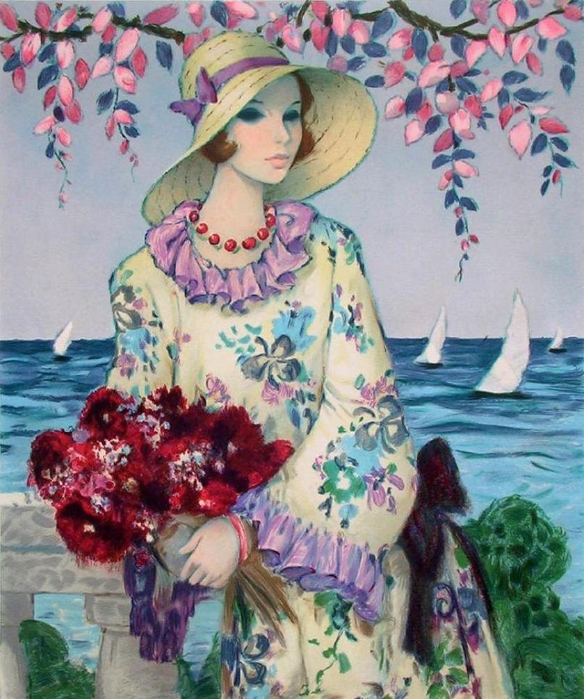 Moda Art Deco, Arte Femminile E Immagini