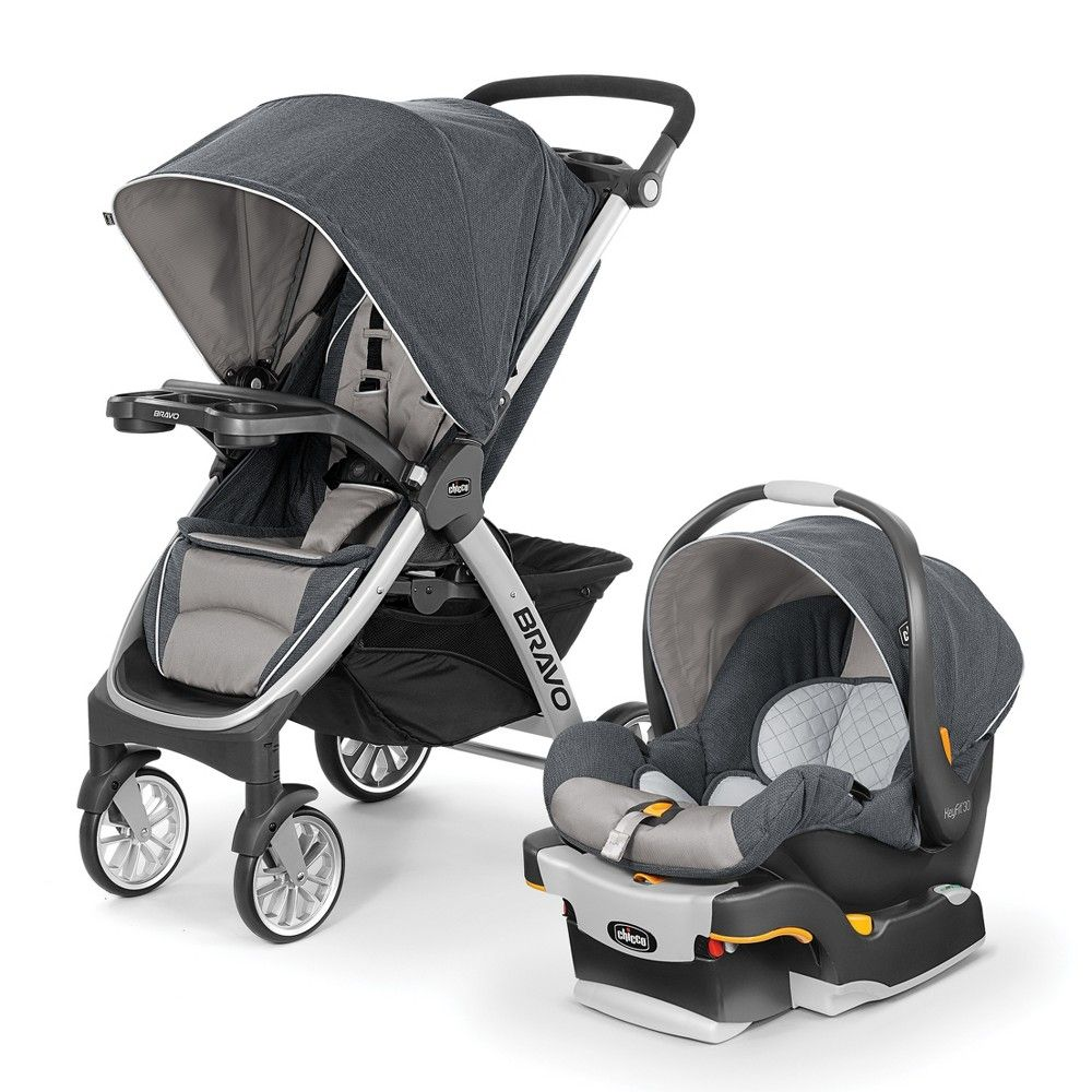 Chicco Bravo Trio Travel System Gray Travel systems