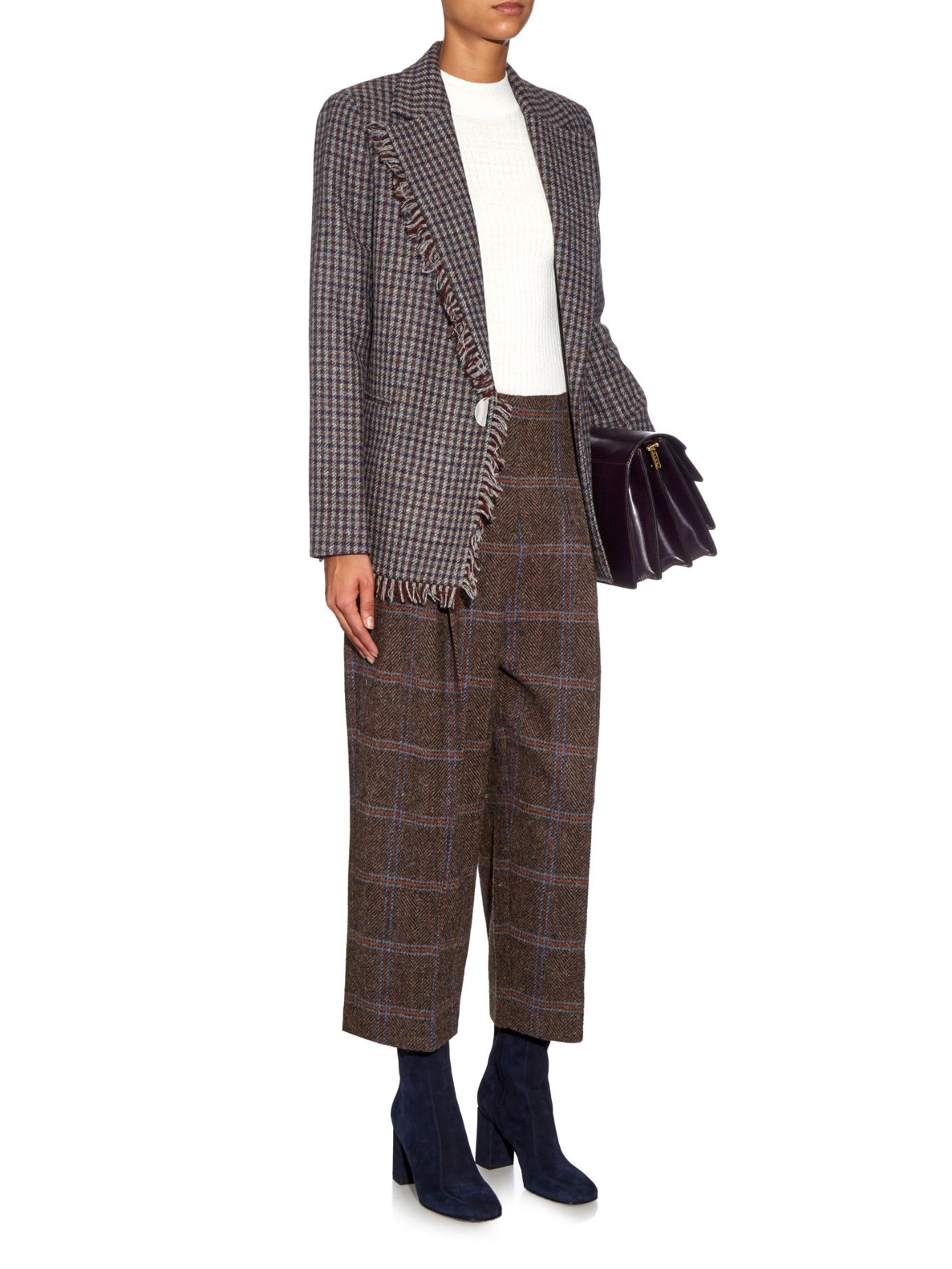 Reims British Shetland tweed jacket | Acne Studios