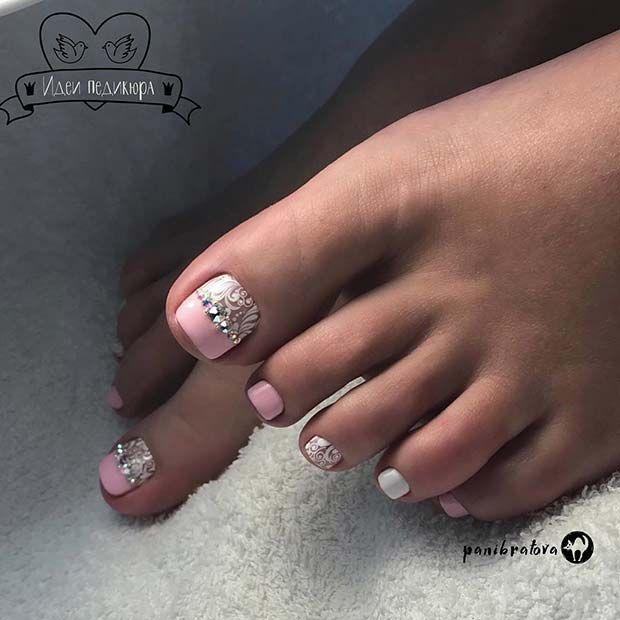 21 Elegant Toe Nail Designs For Spring And Summer Toe Nail Designs